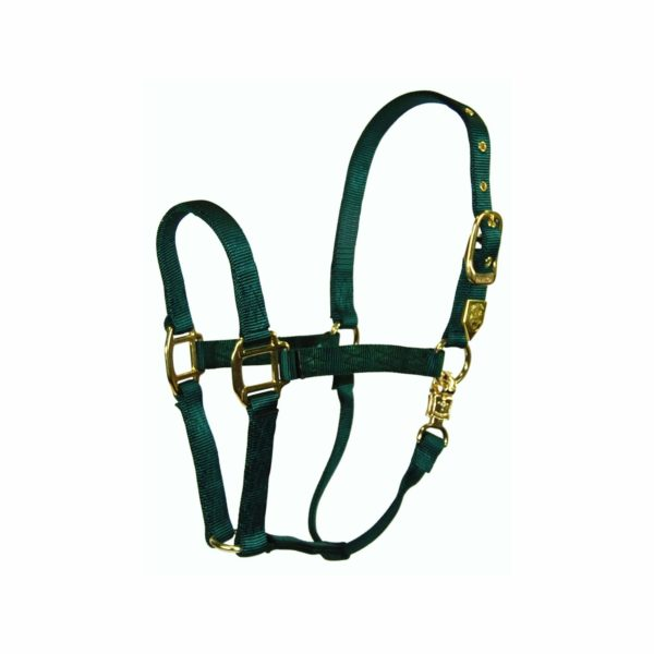 "1"" Deluxe Nylon Halters with Panic Snap - Halter - Hamilton - Miracle Corp"