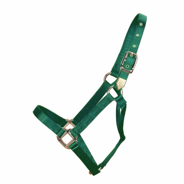 "1"" Deluxe Nylon Halters With Brass Hardware - Halter - Hamilton - Miracle Corp"