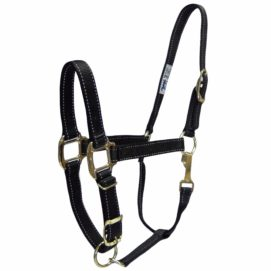"""1"""" Quality Reflective Halters with Adjustable Chin & Snap - Halter - Hamilton - Miracle Corp"""
