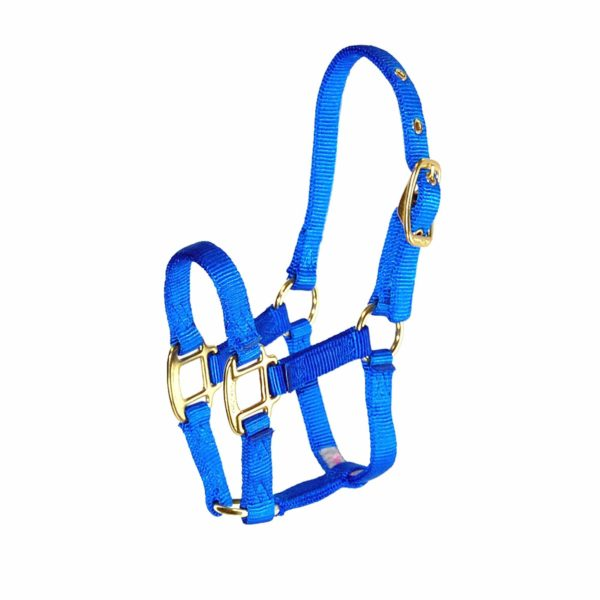 "3/4"" Deluxe Nylon Halters with Adjustable Chin Strap - Halter - Hamilton - Miracle Corp"
