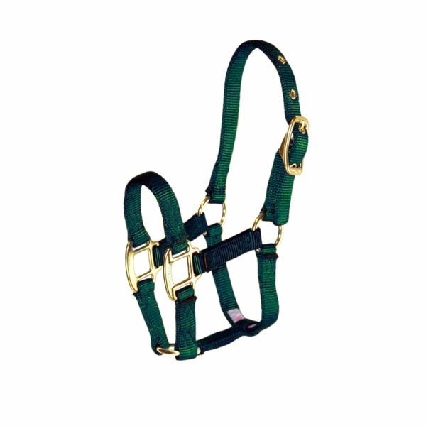 """3/4"""" Deluxe Nylon Halters with Adjustable Chin Strap - Halter - Hamilton - Miracle Corp"""