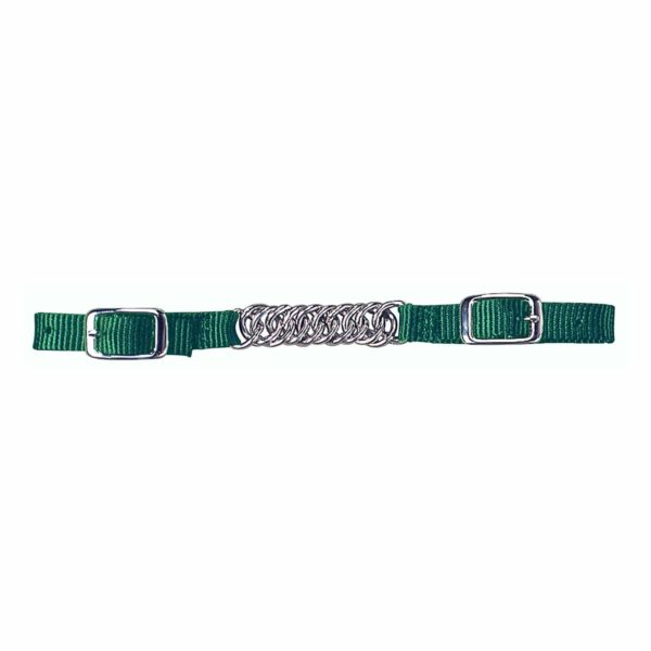 Curb Strap with Flat Twist Chain - Tack - Hamilton - Miracle Corp