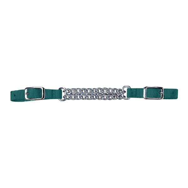 Curb Strap with Double Chain - Tack - Hamilton - Miracle Corp