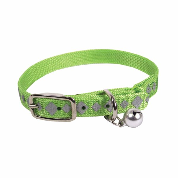 Buckle Collar with Bell, Reflective - Collar - Hamilton - Miracle Corp
