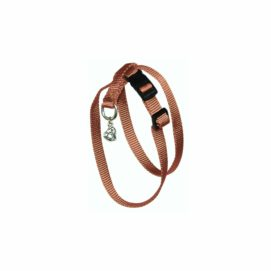 Figure Eight Cat Harness with Brushed Hardware - Harness - Hamilton - Miracle Corp
