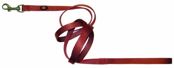 Designer Single Thick Leash with Brushed Nickel Finish - Leash - Hamilton - Miracle Corp