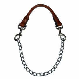 Chain Collar with Leather Handle - Collar - Hamilton - Miracle Corp