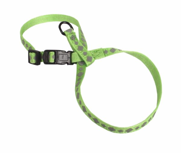 Breakaway & Snag Proof Reflective Adjustable Collar with Bell - Harness - Hamilton - Miracle Corp