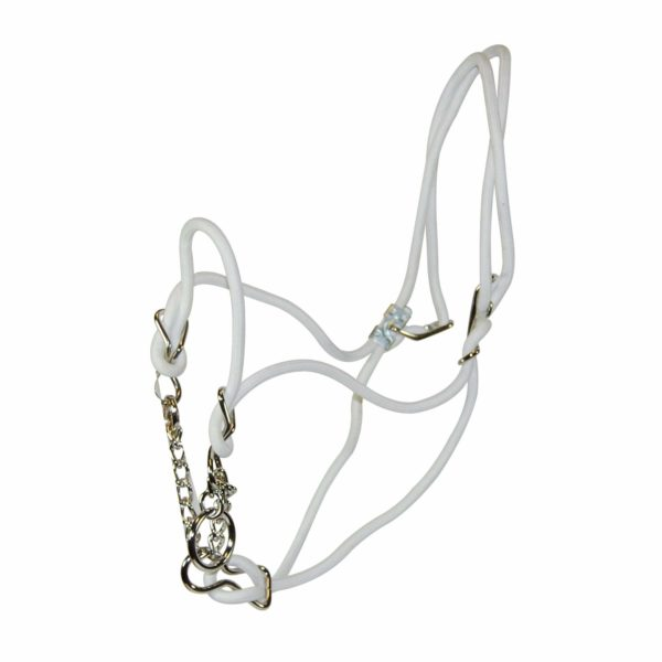 Cotton Rope Halter with Control Chain - Halter - Hamilton - Miracle Corp