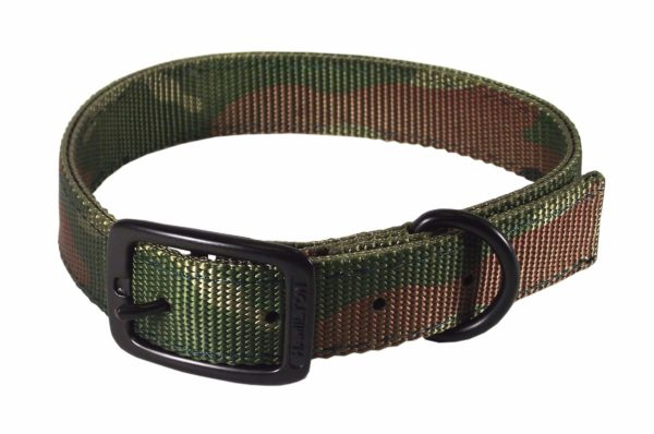 """Hunt/Sport Double Thick Buckle Collars, Large 18"""" - 26"""" - Collar - Hamilton - Miracle Corp"""