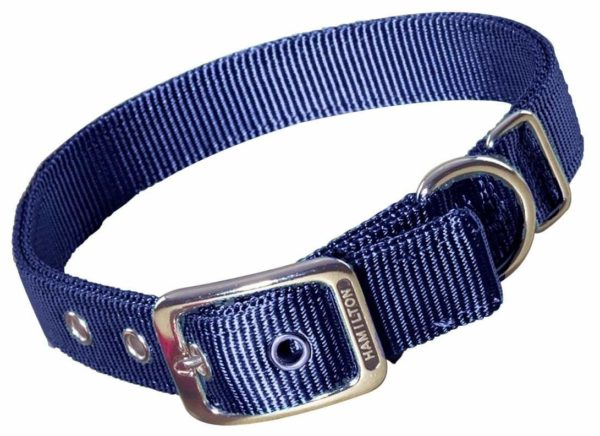 """Classic Double Thick Buckle Collars, Large, 28"""" - 32"""" - Collar - Hamilton - Miracle Corp"""