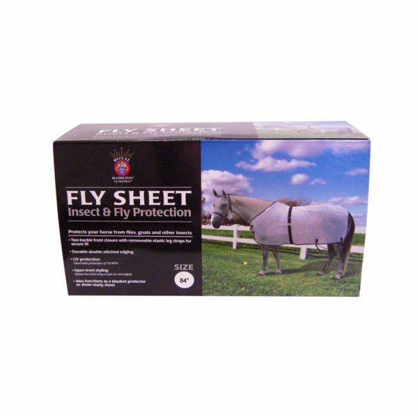 Boxed Fly Sheets - Tack - Hamilton - Miracle Corp