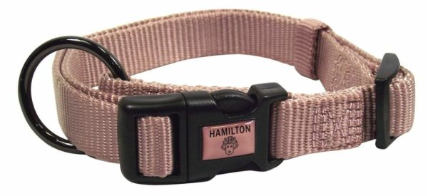 Designer Adjustable Collar with Gunmetal Finish - Collar - Hamilton - Miracle Corp