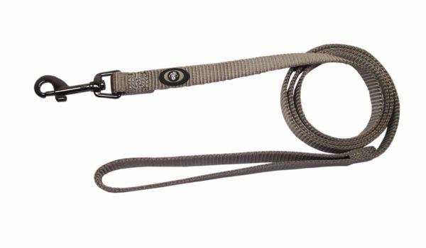 Designer Single Thick Leash with Gunmetal Finish - Leash - Hamilton - Miracle Corp