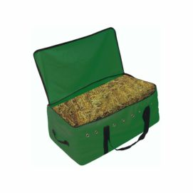 Hay Bale Bags with Reinforced Bottom, Multiple Handles & Grommet Ventiliation - Tack - Hamilton - Miracle Corp