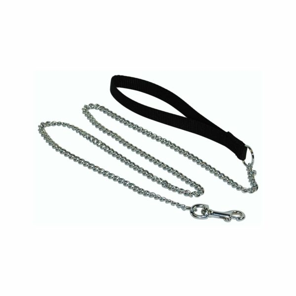Chain Leash with Nylon Handle - Leash - Hamilton - Miracle Corp