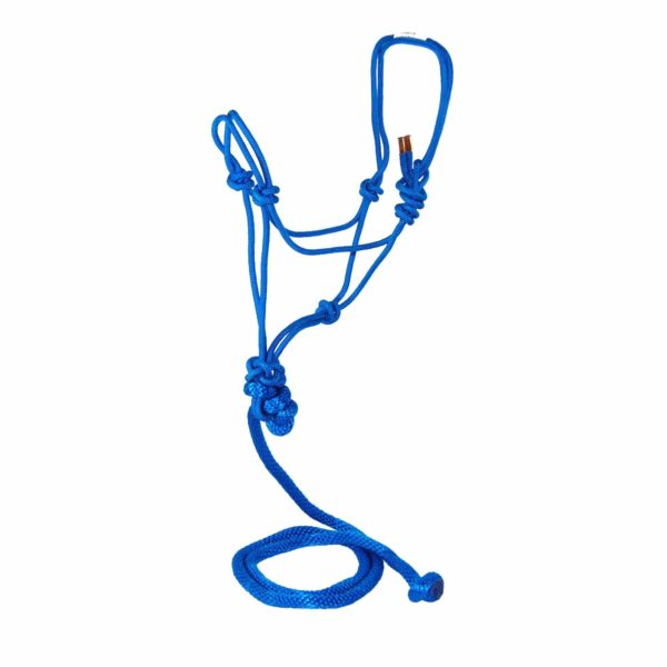 Average Rope Halters with 7' Lead, Single Color - Halter - Hamilton - Miracle Corp