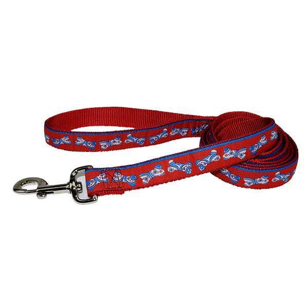 Fashion Single Thick Leash with Ribbon Overlay - Collar - Hamilton - Miracle Corp